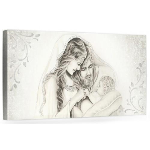 """A006 Originale quadro moderno su tela per la camera da letto con decorazioni 3D - Immagine """"Il calore/ unione della famiglia"""""""