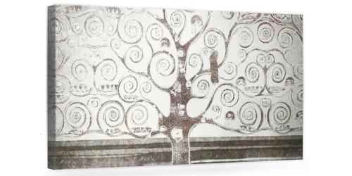 """A029-2 Quadro moderno su tela per arredare la casa con decorazioni 3D - raffigurante """"Albero della vita/ Paesaggio"""" Klint"""