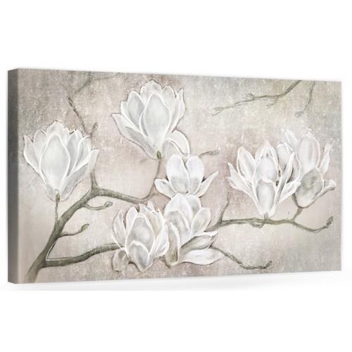 """A032-2 Originale quadro moderno su tela con fiori per il soggiono decorazioni 3D """" Mannolie """""""
