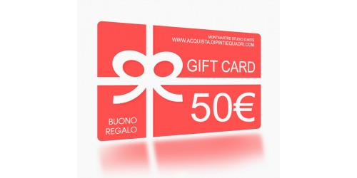 GIFT CARD Acquista un buono regalo
