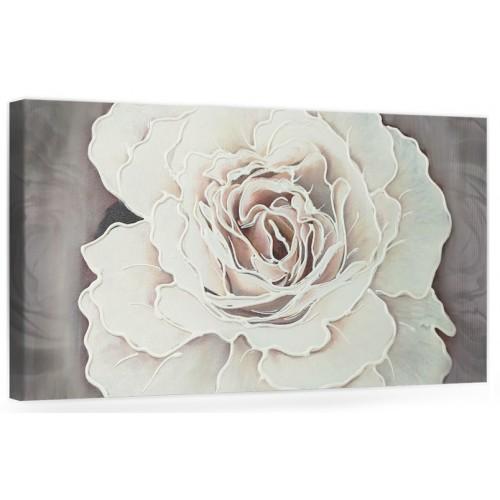 """F001 Originale quadro moderno su tela con fiori per il soggiorno decorazioni 3D """"Rosa Gigante"""""""