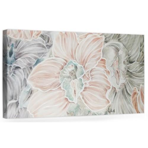"""Originale quadro moderno su tela con fiori per il soggiorno decorazioni 3D """" Orchidee """""""