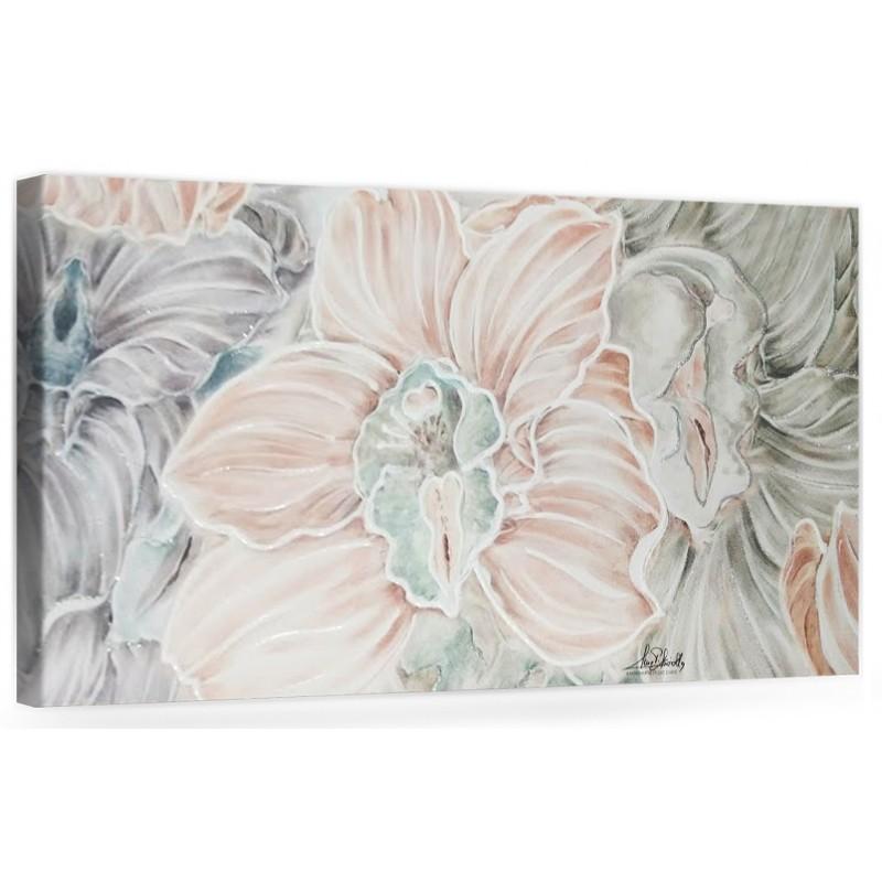 Originale quadro moderno su tela con fiori per il soggiorno decorazioni 3D  \