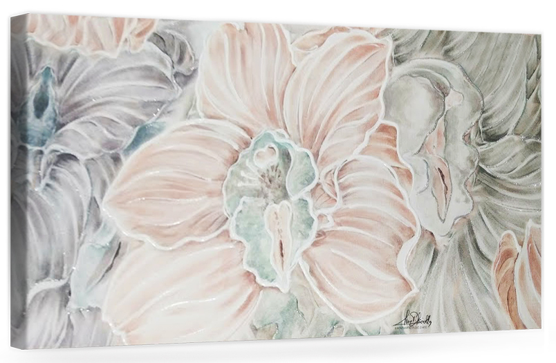 """F002 Originale quadro moderno su tela con fiori per il soggiorno decorazioni 3D """" Orchidee """""""